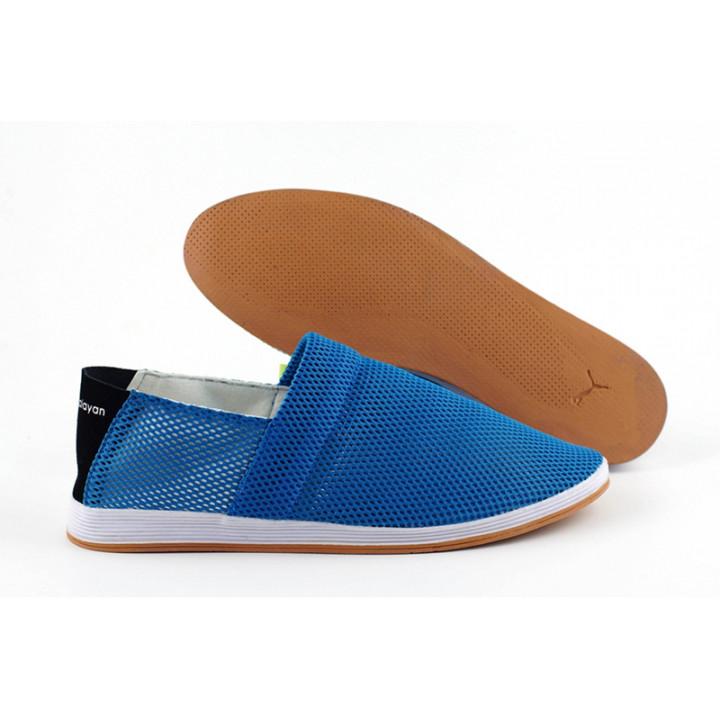 Мокасины puma husein chalayan, синий